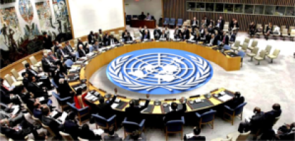 Members of the united nations security council in a past meeting(Photo: file)