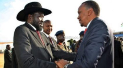 Kiir and Kenyatta