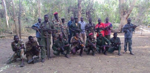 SPLA(IO) Anya-nya Divion, Torit, South Sudan (Photo/Nyamilepedia)
