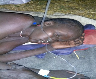 CDM patient in Ayod County (Photo/Rev James Tut)