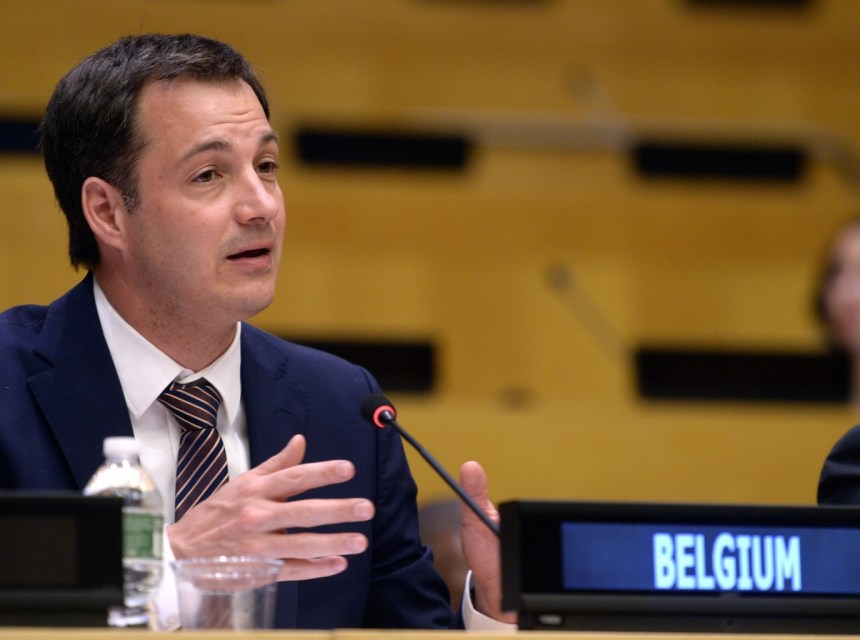 Deputy Prime Minister and Minister of Development Cooperation Alexander De Croo brings a humanitarian work visit to South Sudan(Photo: file)