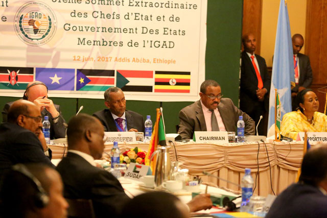 The IGAD summit in Addis Ababa on Monday, June 12th, on South Sudan. The Bloc has resolved to urgently convene a High Level Revitalization Forum to resuscitate the Peace Agreement(Photo: file)
