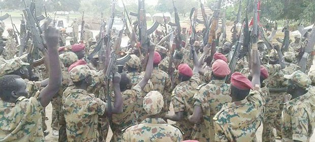 Forces of a new rebellion during a military parade in undisclosed location in Aweil State(Photo: file)