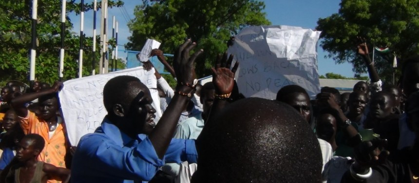 Bor youth protest visit of First Vice President(Photo: file)