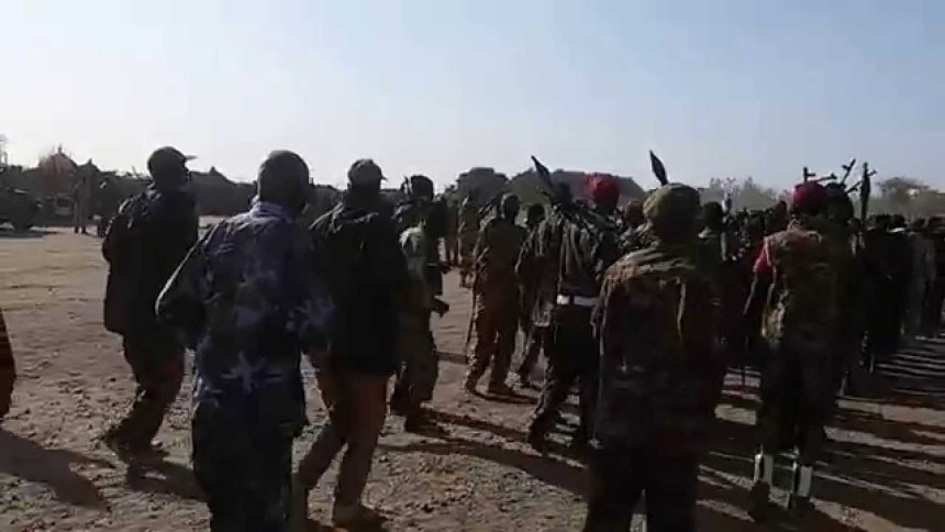 Forces of Machar's SPLA-IO during an earlier parades in Northern Upper Nile(Photo: file)