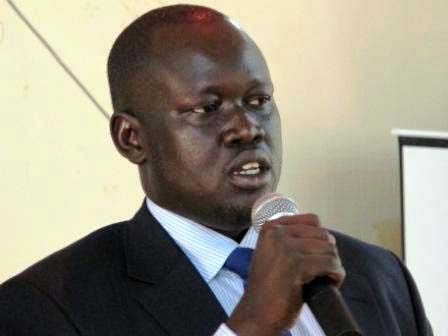 Nhial Majak, former Mayor of Bor Municipality Council, could be the next deputy mayor of Juba city(Photo: file)