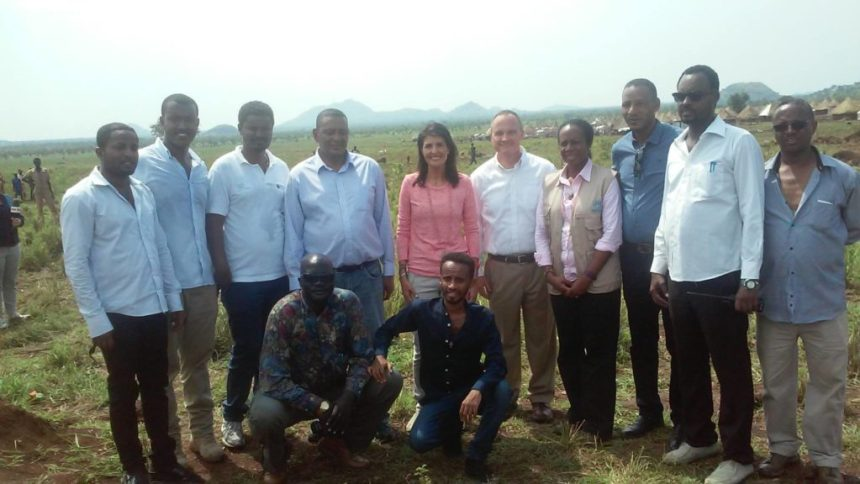 U.S Ambassador to the United Nations, Amb. Nikki Haley, travels to Gambella, Ethiopia, to meet South Sudanese refugees who are displaced by war(Photo: file)