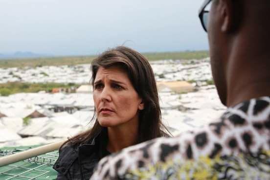 Nikki Haley, the US Ambassador to the United Nations visits South Sudan(Photo: file)