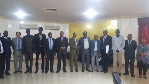 BREAKING NEWS: Gen. Peter Gatdet Yaka Meets IGAD and JMEC Representatives in Khartoum, Sudan