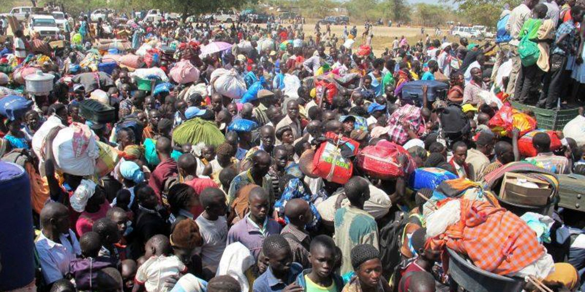 South Sudan civil war causes Africa's worst refugee crisis