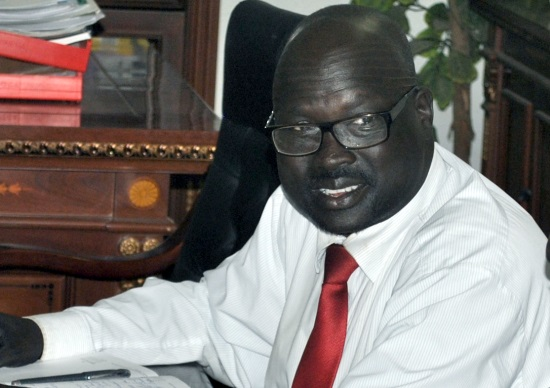 Ustaz Daniel Wuor Joak - former UNS Minister for General Education and Instruction and SPLM/A(IO) representative to Scandinavian Countries(Photo: file)
