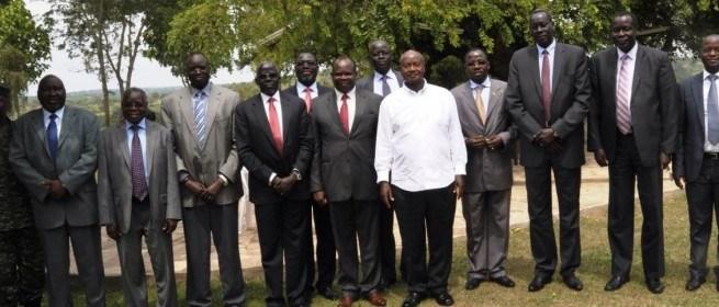 Members of the former Detainees meeting Ugandan President Yoweri Museveni in the past(Photo: file)