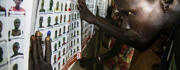 South Sudanese trying to find out whether their relatives are dead or alive(Photo: BBC)