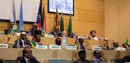 IGAD leaders during South Sudan 2nd Peace Process, the Revitalization Forum, in Addis Ababa, Ethiopia, December 2017(Photo: file)