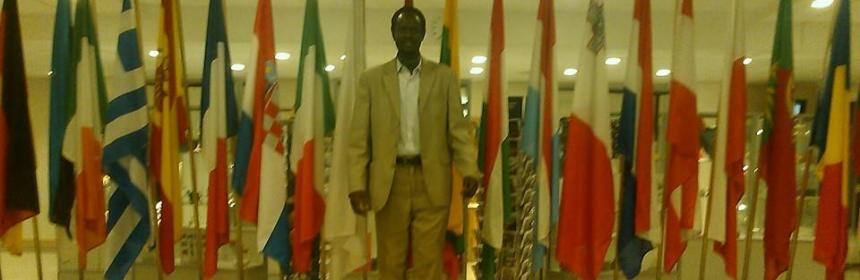 Kuajien Lual Wechtuor, the SPLM/A[IO] Representative to Germany(Photo: file)