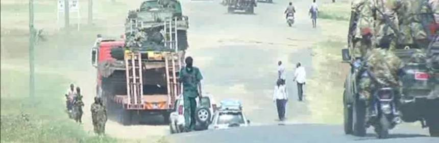 South Sudan's fragmented army goes on a dog-fight within the capital, Juba, in July 2016 to uproot the First Vice President, Dr. Riek Machar Teny(Photo: Citizen TV/File)