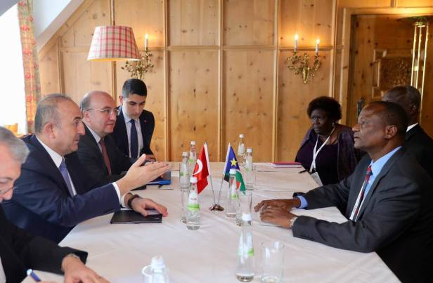 TC Dışişleri Bakanı, Antalya Milletvekili – Minister of Foreign Affairs of Republic of Turkey, MP for Antalya, discussed political and economic relations with the regime's First Vice President, Taban Deng Gai(Photo: file)