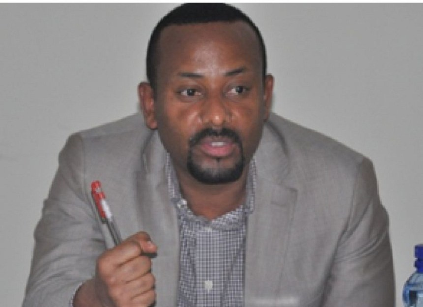 New leader of the Ethiopian coalition and Prime Minister Abiy Ahmed (File - Photo)