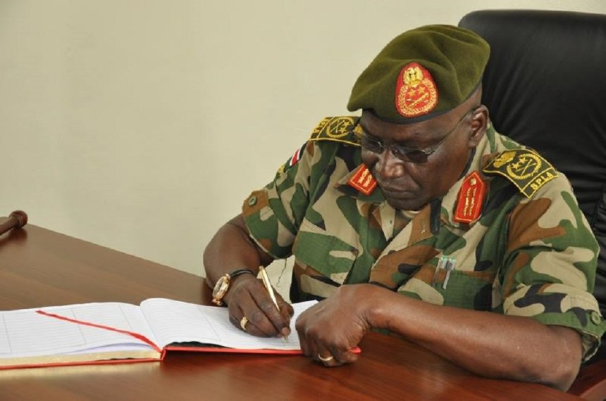 Gen Paul Malong Awan, former SPLA Chief of General Staff | File Photo