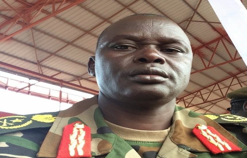 Lt. Gen. Gabriel Jok Riak (File - photo)