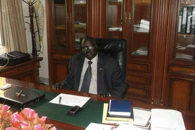 Late Daniel Wuor Joak, author of the Rise and Fall of SPLM/A leadership, former Minister of Education and IO Mission To Norway(Photo: file)