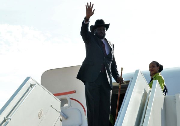 South Sudan President Salva Kiir Mayardiit (File photo)