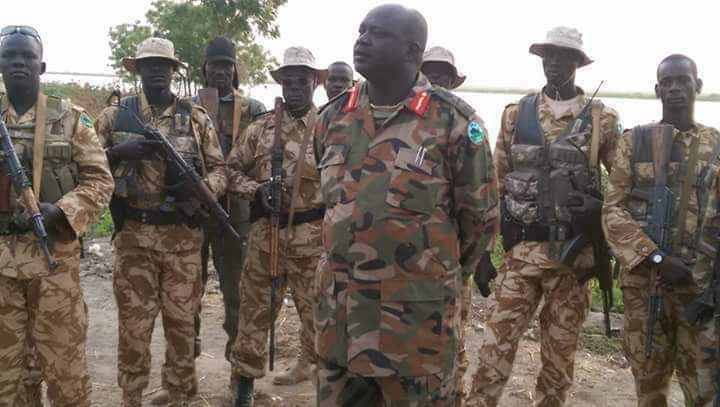 Maj. Gen. Buay Rolnyang (File photo)