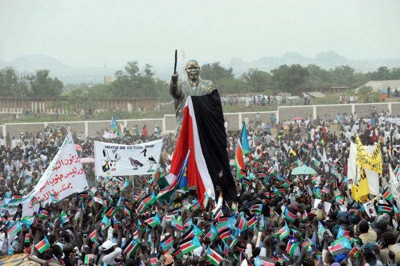South Sudan independence celebrations 9th July 2011 (File photo)