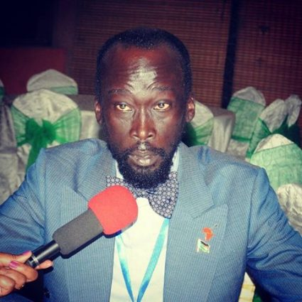 Mabior Garang de Mabior (File photo)
