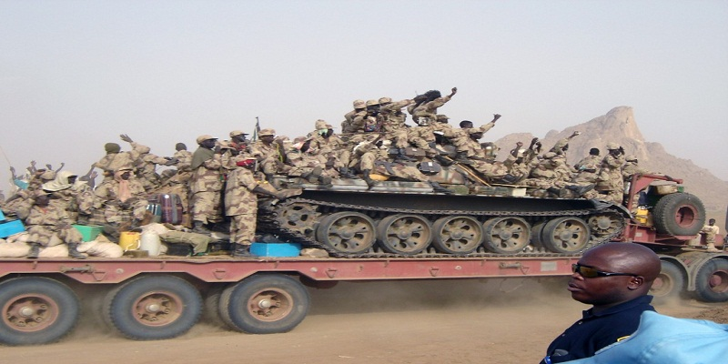 South Sudan army heading to Bor in January 2014 (File photo)