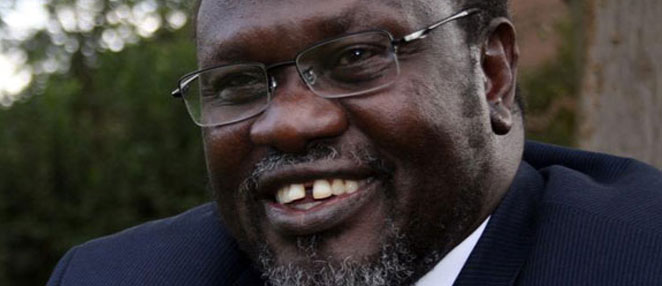 SPLM-IO Chairman and Commander-in-Chief Dr. Riek Machar Teny-Dhurgon (File photo)