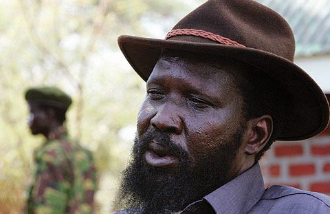 South Sudan's regime leader, Salva Kiir Mayardit, in a past photo(Photo: supplied/file)
