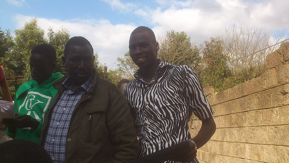 Koang Dang Yut in a past picture with his younger brother, Latjor Dang Yut. Koang past away on June 4th, 2018 in Nairboi, Kenya, after a short illness(Photo: file/supplied/Nyamilepedia)