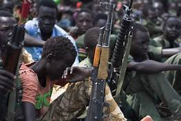 Child soldier in an undisclosed location in South Sudan (File photo)
