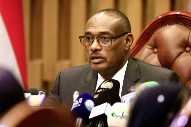 Sudanese Foreign Minister Al-Dirdiri Mohamed Ahmed (File photo)