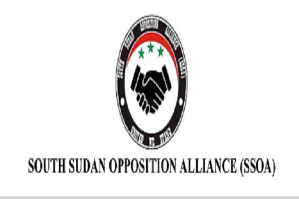 Logo of the South Sudan Opposition Alliance (File photo)