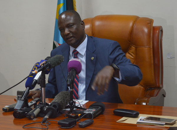 South Sudan's First Vice President Taban Deng Gai (File photo)
