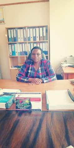 Deputy Principal (Administration) Mrs Agnes Gachenge