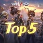 COAIV中国大陸地区オンライン予選一週目TOP5