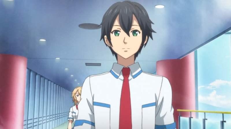 【PSO2アニメ:2話】イツキの後ろをつけるアイカさん