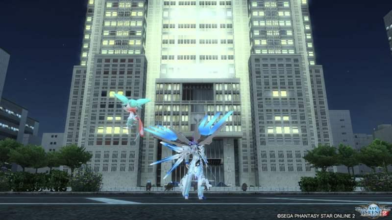 【PSO2】特別任務:東京【金】は夜の街