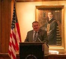 Michael Sampson, Ph.D., Dean, School of Education, St. John's University - Guest Speaker at NYAPE's Fall Dinner Meeting, 2017