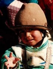Jongetje Otavalo Ecuador