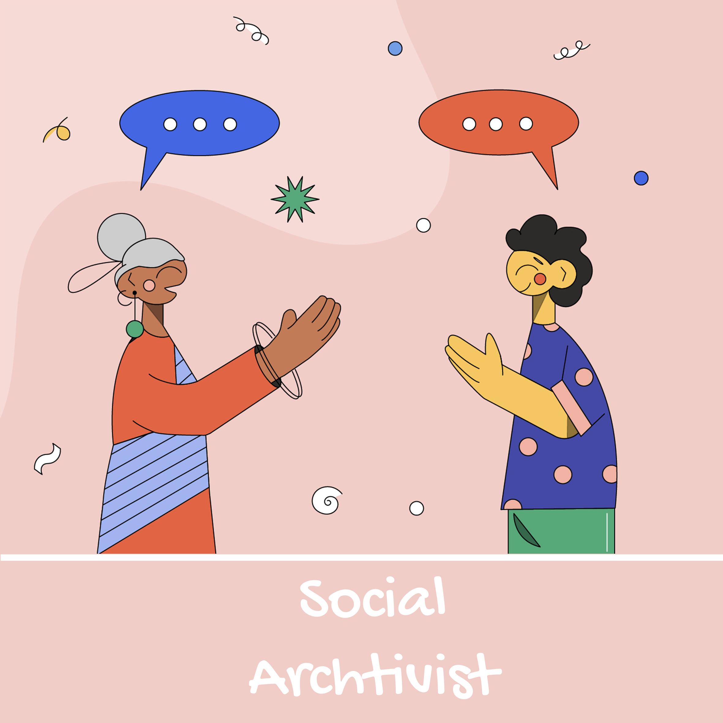 Nyasha Harper-Michon - Social Archtivist