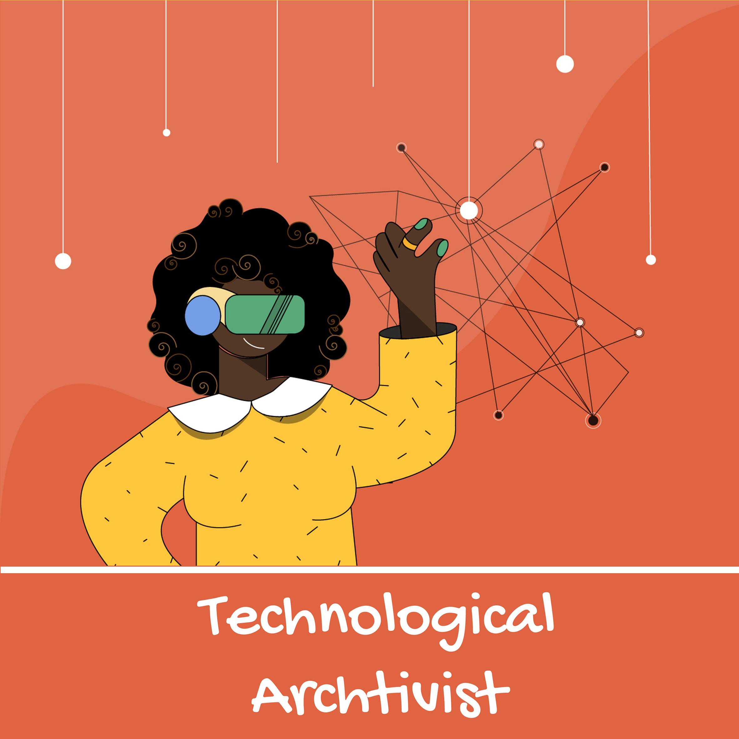 Nyasha Harper-Michon Tehcnological Archtivist