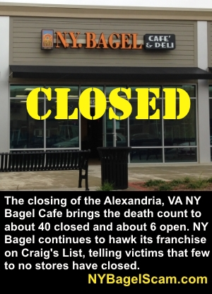NY Bagel CLOSED