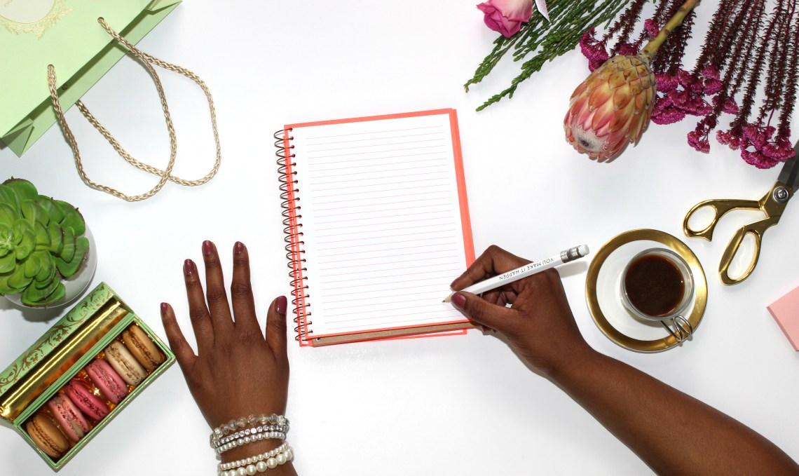 l'organisation de ma vie de blog et d'étudiante