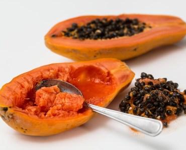 masques hydratant et exfolient à base de fruits
