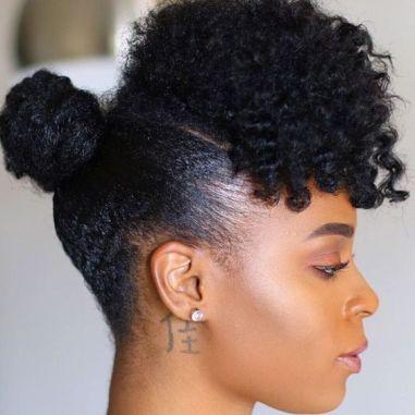 modèles de coiffures afro sans rajouts