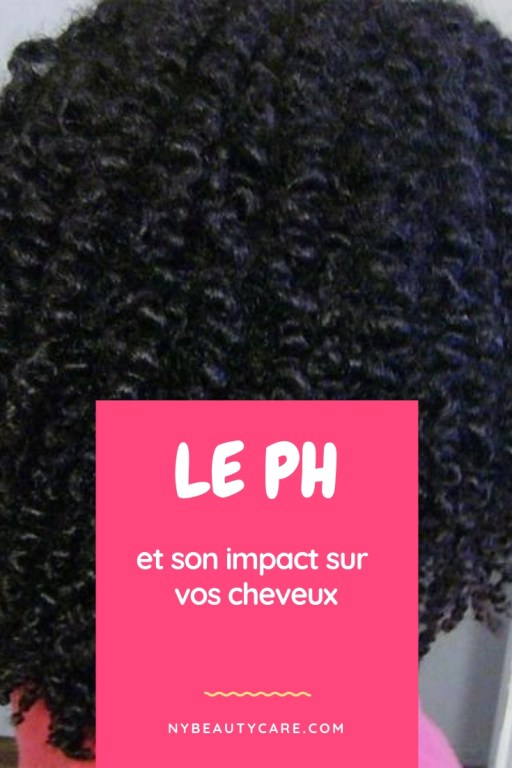 le pH influence sur nos cheveux